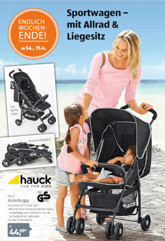 Hauck Kinderbuggy bei Aldi Süd