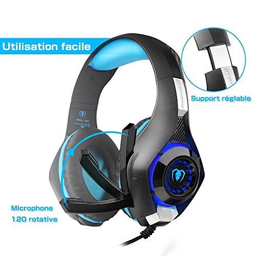"""""""TOP"""" Gaming Headset Kopfhörer mit Mikrofon und LED-Licht für PS4 Xbox One und PC für 14.99 @ inkl. VSK"""