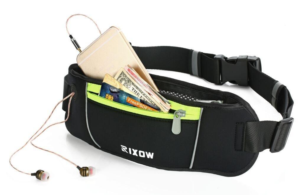 Amazon: Hüfttasche mit Reflektorstreifen für Handy/Geld etc.