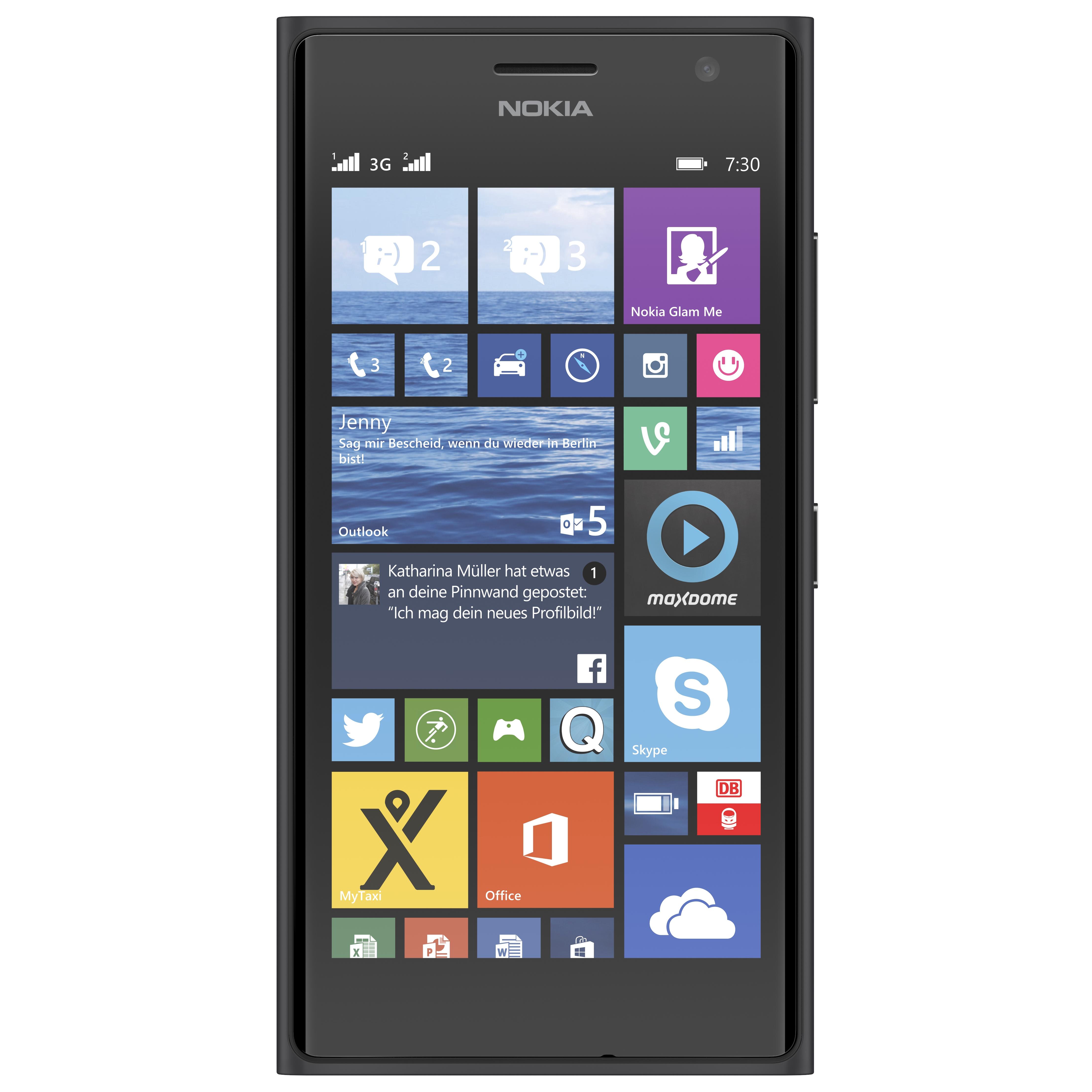 [ NBB ] Nokia Lumia 730 Dark Grey für nur 79,99€
