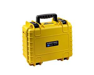 Beendet: B&W Outdoor Case Typ 3000 Yellow