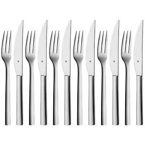 [ebay] WMF Steakbesteck-Set Nuova 12-teilig für 6 Personen (Cromargan, Edelstahl, rostfrei, 18/10, poliert) für 30€ statt 40€