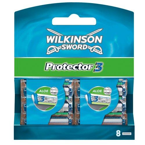 Rasierklingen, Wilkinson Sword Protector 3 Klingen, 8 Stück , Amazon
