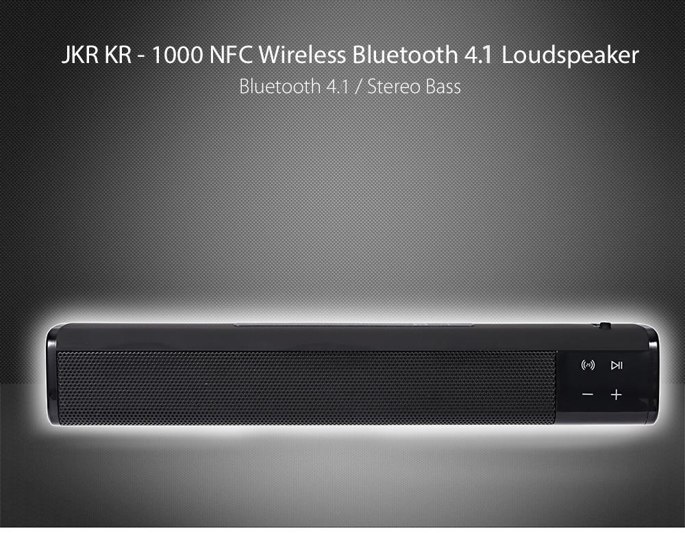 JKR KR 1000 NFC Wireless Bluetooth 4.1 Lautsprecher für €32.85