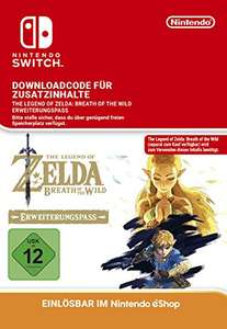 The Legend of Zelda - Breath of the Wild - Expansion Pass (Switch oder Wii U) für 17,99 Euro
