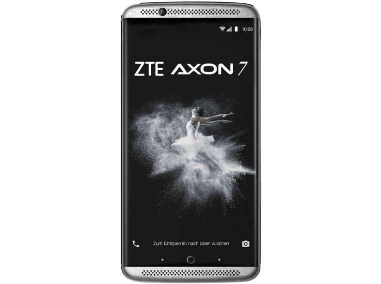 [MediaMarkt | Amazon ] ZTE Axon 7 64 GB Grau Dual Sim Android 7.1.1