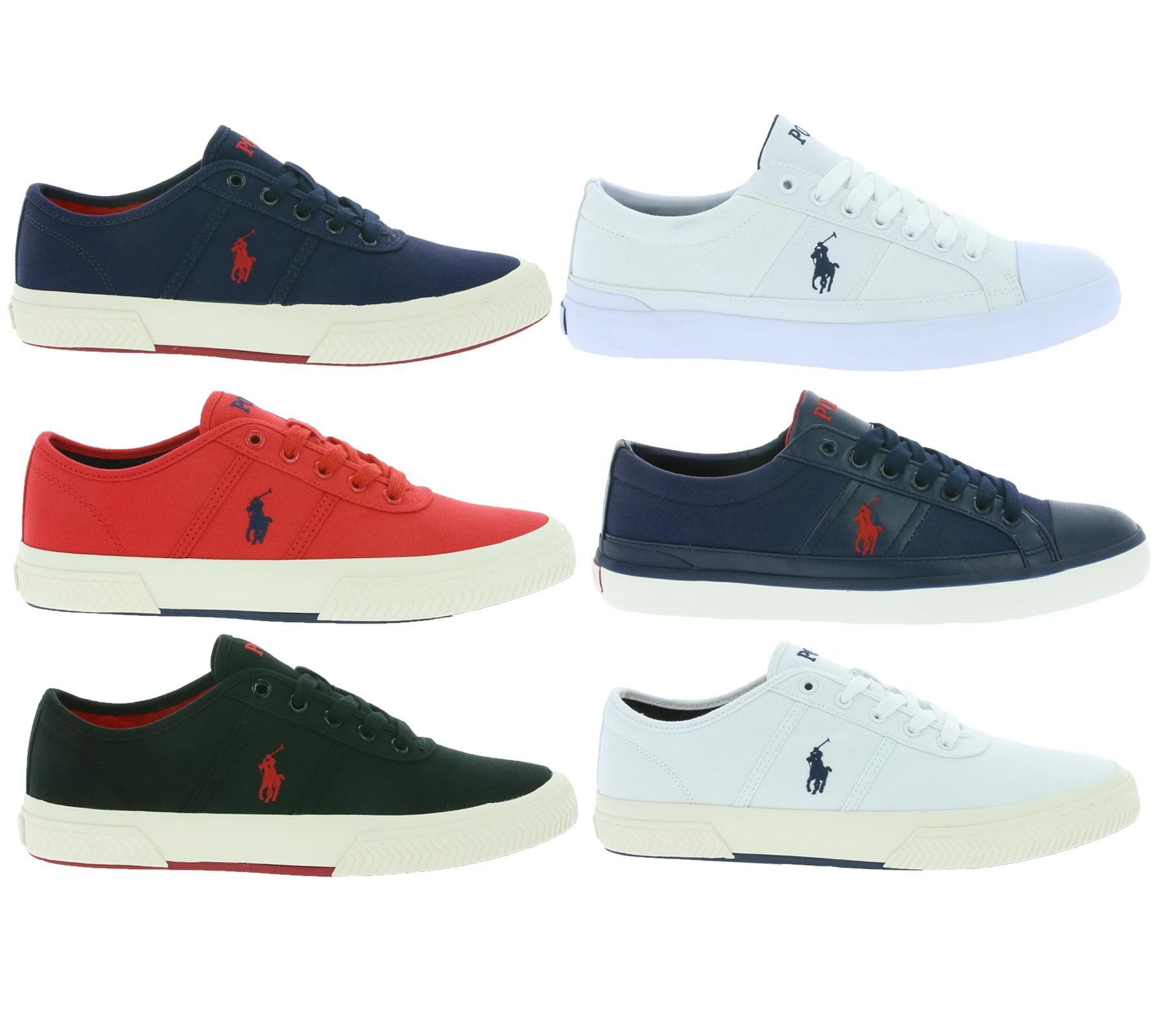(POLO) RALPH LAUREN Herren Sneaker / Gr.40-45 / Viele Farben @Outlet46