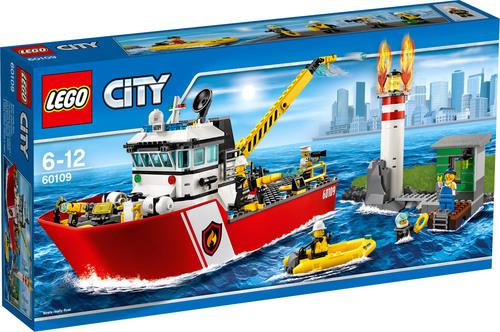 Lego-Sale bei [windeln.de] z.B. Lego City Feuerwehrschiff 60109 für 45,49€