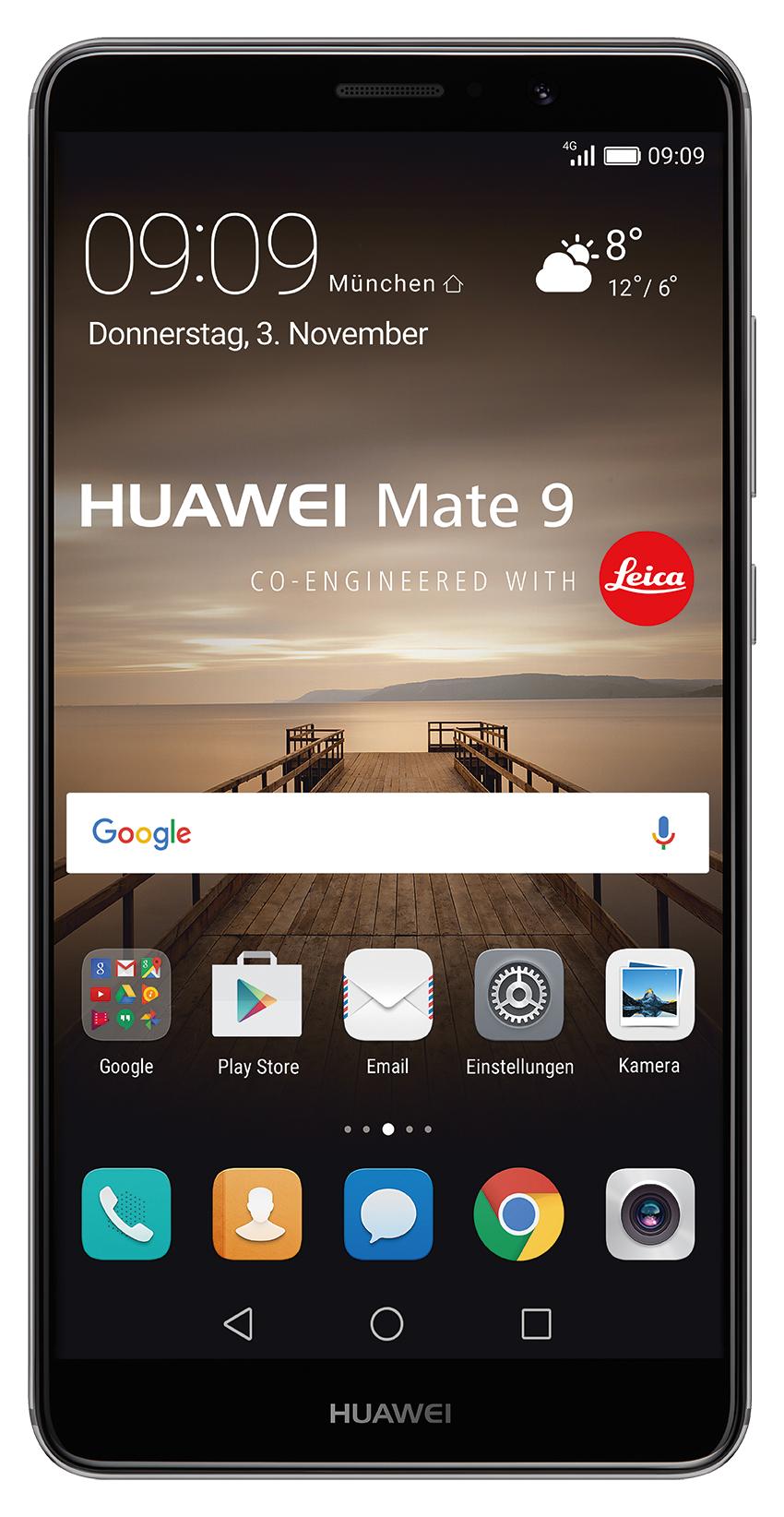SCHWEIZ: Huawei Mate 9 Space Grey für CHF 549.- (ca. 515.- Euro)