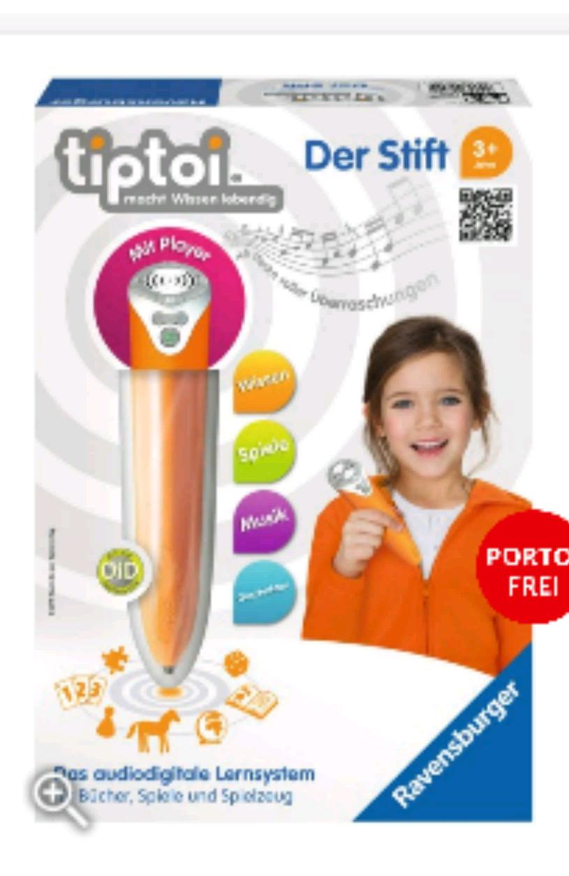 tiptoi Stift 2 für 25,49€ bei [Thalia]