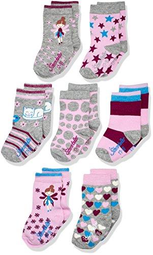 Sterntaler Baby-Mädchen Socken Söckchen 7er-Box Größe 30 bei Amazon 7,02€ statt 19,99€