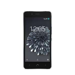 "BQ Aquaris X5 Plus 4G (32+3GB) 5"" FHD, IPS, Dual-SIM, Android 7.1.1 schwarz/anthrazitgrau"