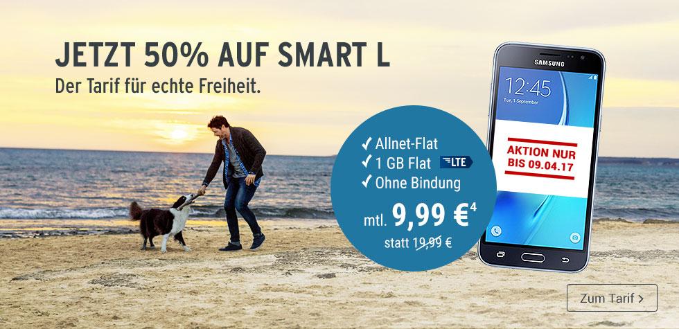 Tchibo Mobilfunk Tarif L für 9,99€ / Allnet Flat und 1GB LTE