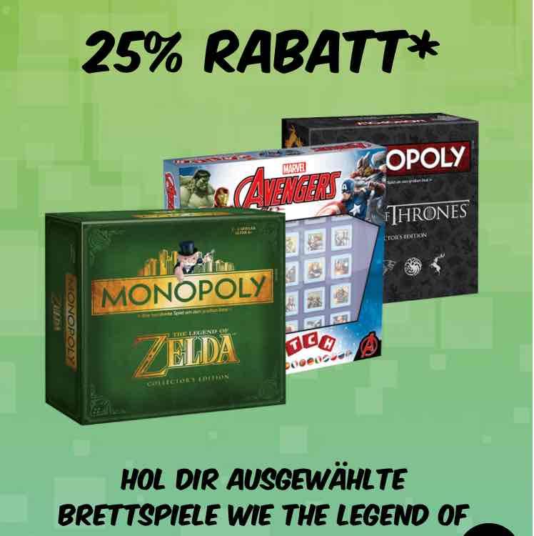 Monopoly Angebot bei Gamestop