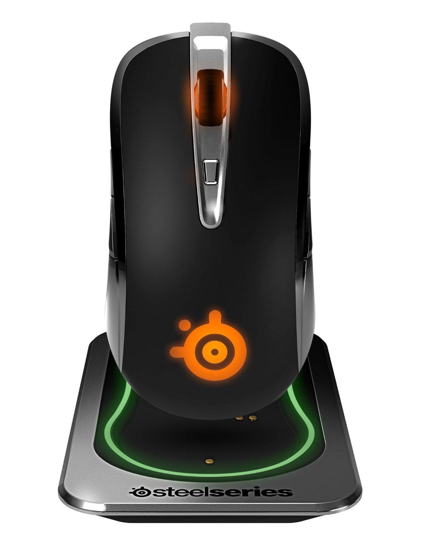 [Rakuten] SteelSeries Sensei Wireless Laser-Gaming-Maus (drahtlos, 8 Tasten, 8.200 dpi, 30G) schwarz mit Masterpass Gutschein 37% unter Idealo