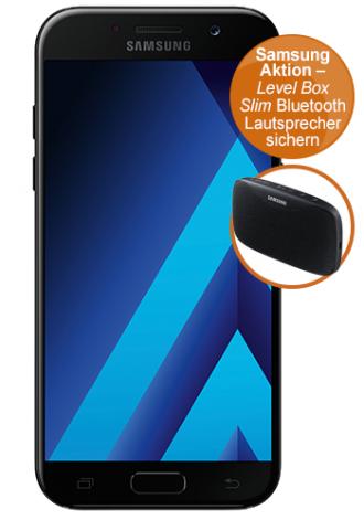 Samsung Galaxy A5 (2017) + Samsung Level Box Lautsprecher + otelo Flat mit 2GB für 19,99€ mtl.