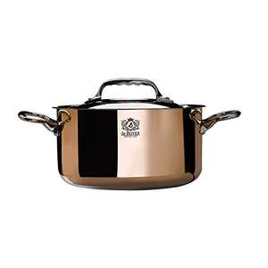 Kochen wie Bocuse - De Buyer Kupfer Kochtopf 16cm @ amazon.es PVG: 319.00€