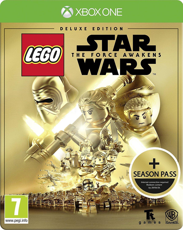LEGO Star Wars: The Force Awakens Deluxe inkl. Steelbook Edition + Season Pass (Xbox One & PS4) für 25,65€ inkl. VSK (Amazon.co.uk)