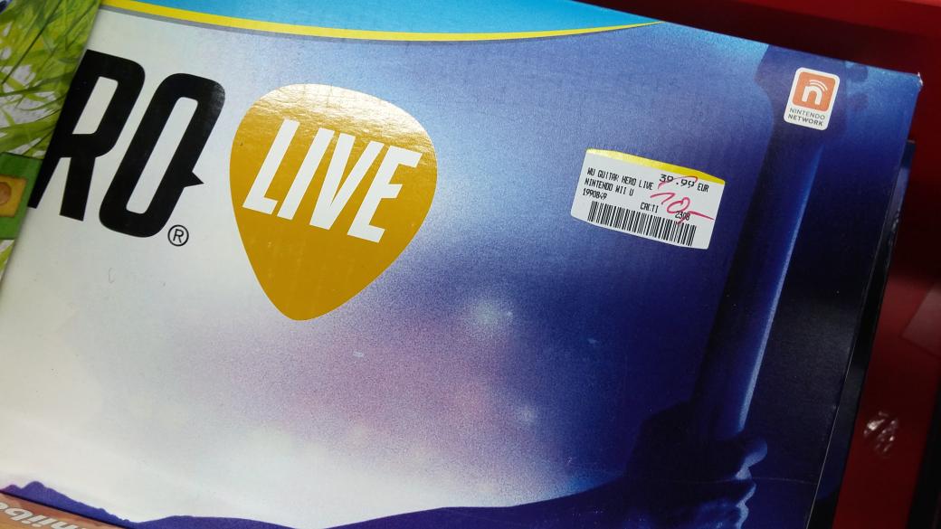 (Lokal Sindelfingen) Guitar Hero Live für Wii U