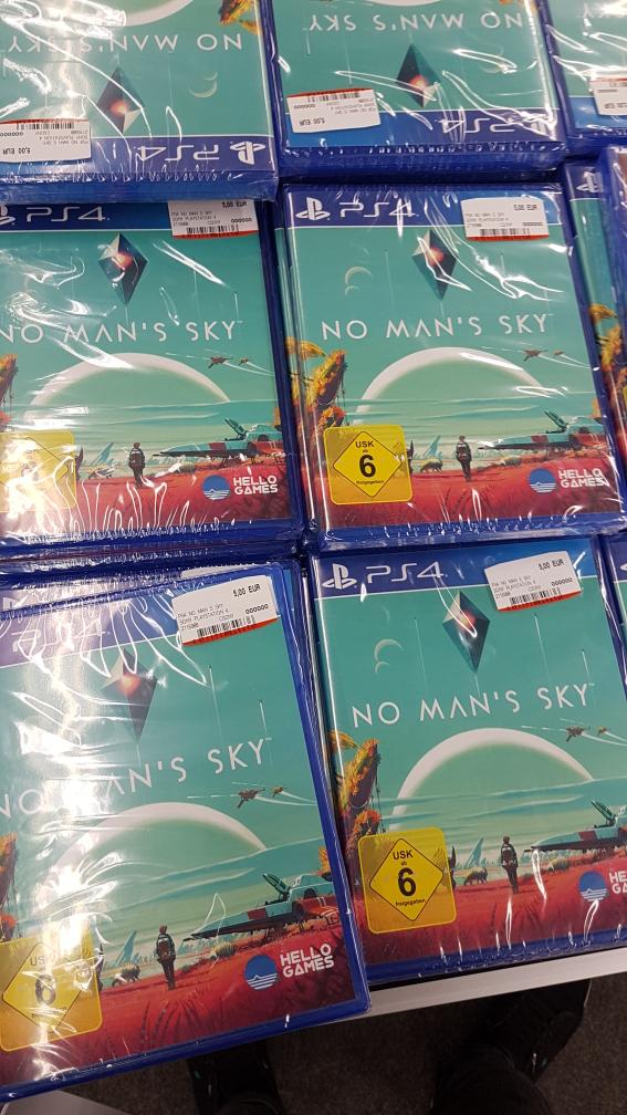 No Man's Sky PS4 für 5€ (Media Markt Regensburg)
