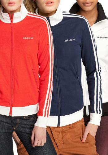 Damen ADIDAS Beckenbauer TT Trainingsjacke Jacke 34,95 € statt 74,95 €