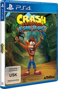 [Voelkner.de] Crash Bandicoot N.Sane Trilogy PS4 (Vorbestellung)