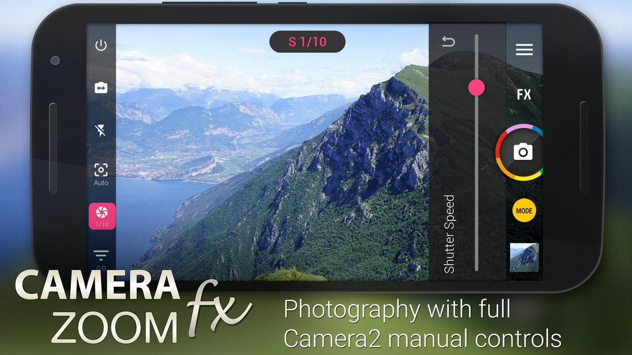 Camera ZOOM FX Premium für 0.10€ anstatt 3.89€ (Google Play)