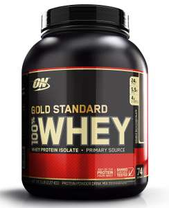 [AMAZON-PRIME] ON OPTIMUM NUTRITION WHEY mit 20% GS für 32,07€ (2273g)