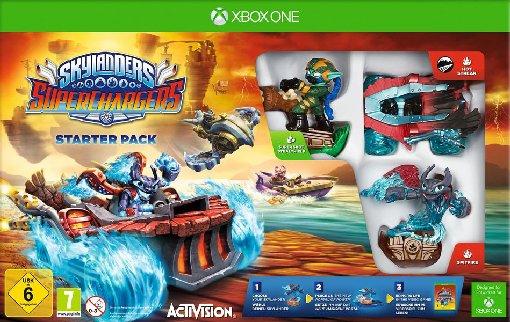 Skylanders: SuperChargers Starter Pack (Xbox One) für 15€ versandkostenfrei (Real)