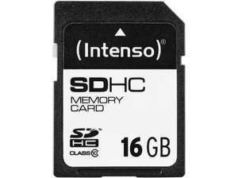 Intenso SD mit 16GB Class 10 / U1 für 4€ [Mediamarkt Abholung]