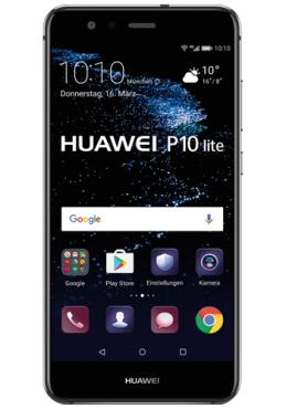 Huawei P10 lite mit Allnet Flat und 4 GB im E-Netz für 19,99€ im Monat