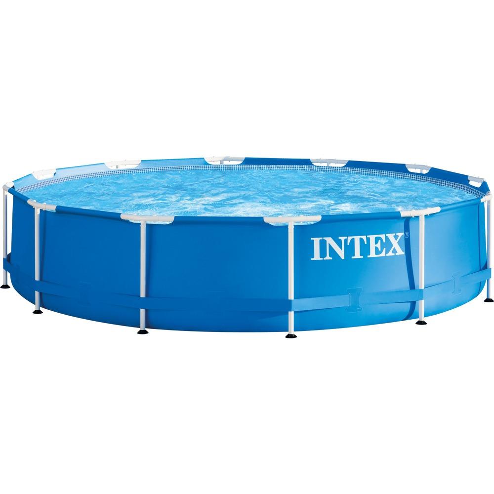 [Rakuten] Intex Frame Pool Set Rondo GS, K. 305x76, Schwimmbad, blau, Kartuschenfilteranlage ECO 602G (mit 50€ MBW auch für 40,63€)