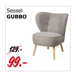 gubbo sessel hellgrau dienstagsangebot am 11 4 bei ikea. Black Bedroom Furniture Sets. Home Design Ideas