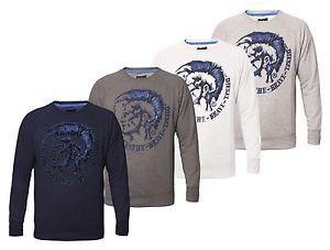 Diesel Scentyn Herren Pullover Sweatshirt 4 Farben Gr. S M L XL XXL
