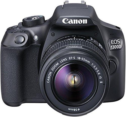 Canon EOS 1300D Spiegelreflexkamera Kit inkl. EF-S 18-55mm IS Objektiv