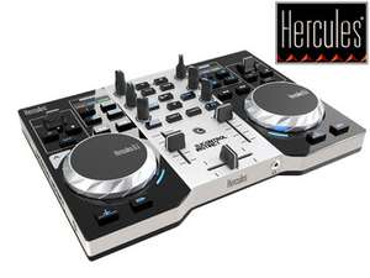 (iBood.de) Hercules DJControl Instinct Party Pack: Instinct S + LED Party Light USB