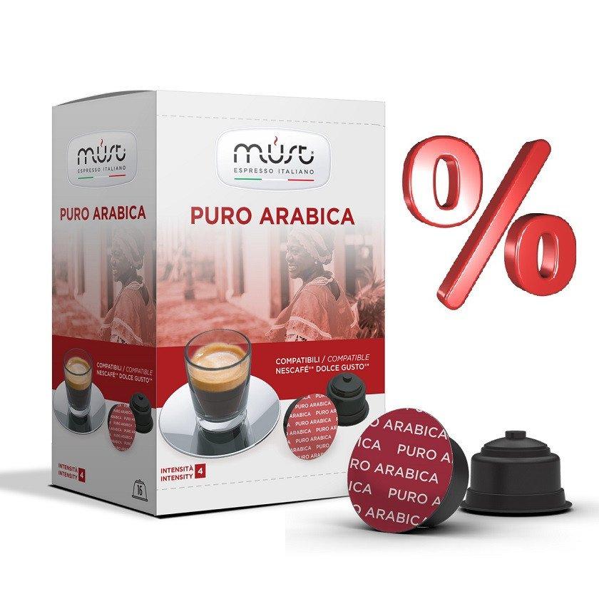 192 x Kaffee Kapseln Arabica für Dolce Gusto für 36,48€ + Versand / Pro Kapsel 0,19€