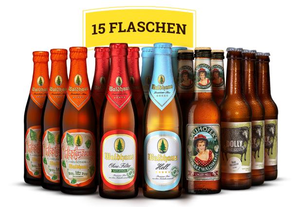 Craftbeerfans aufgepasst - BeerJack Schwarzwaldbox 15 Biere für 19,90€ statt 29,90€ und VSKF