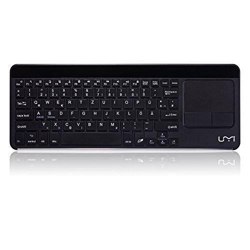Amazon Prime Deutsche Bluetooth Tastatur Ultradünn Kabellose QWERTZ Tastatur mit Multi Touchpad 24,99 Euro