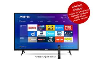 Medion Smart-TV mir LED-Backlight-Technologie 49'' bei Aldi Süd