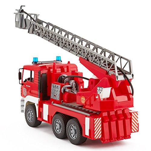 [AMAZON] Bruder 02771 - MAN Feuerwehr mit Drehleiter, Wasserpumpe und Light & Sound Modul - klasse Ostergeschenk!