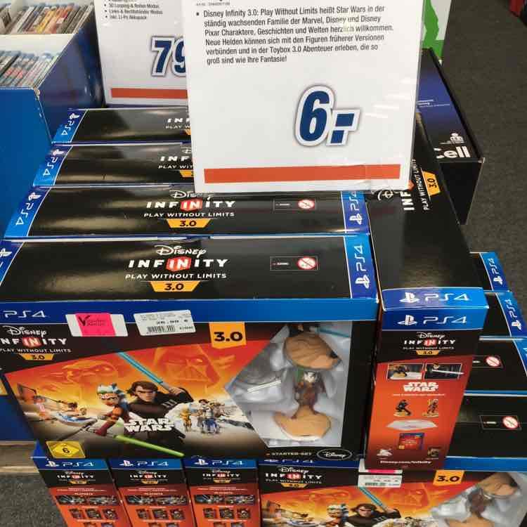 Disney Infinity 3.0: Star Wars - Starter Set (PS4) für 6€