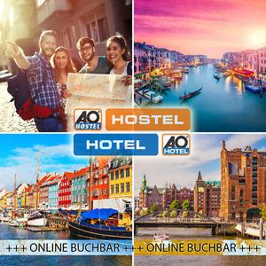 (ebay.de) A&O Hostels 3 Tage Kurzurlaub für 2 Personen in 23 Städte - 6 Länder im Mehrbettzimmer. Über 34 Hostels für 29€