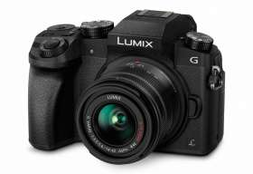 Panasonic Lumix DMC-G70 Kit schwarz + 14-42 OIS II