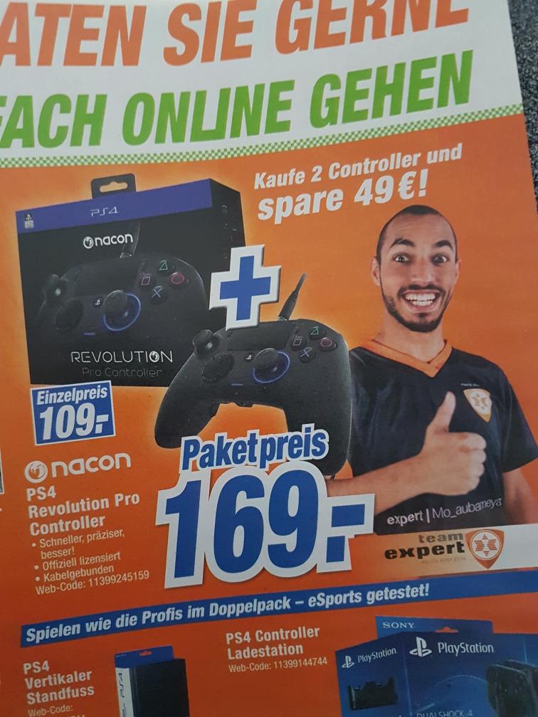 [Lokal? Bad Salzuflen] 2x Playstation 4 Revolution Pro Controller von nacon