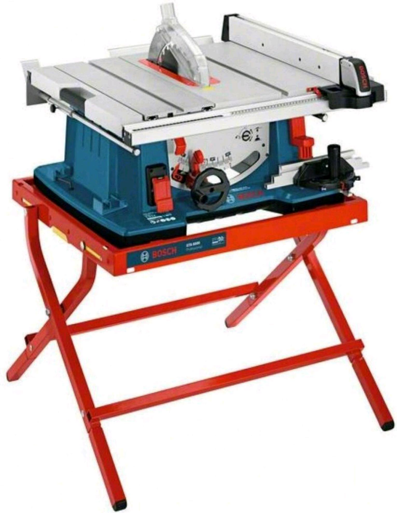 Bosch Professional Tischkreissäge GTS 10 XC mit Tisch GAT6000 Händler svh24