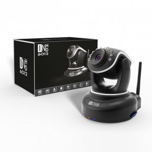 INSTAR IN-6012HD Wlan Kamera IP / HD Kamera / Surveillance ip cam drahtlos mit WLAN / LAN und steuerbar dank Motoren (10 IR LED Infrarot Nachtsicht, WDR, SD Karte, Bewegungserkennung, Babyphone, Aufnahme) schwarz. [inkl. Versand]