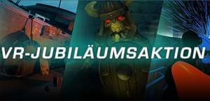 Steam VR Jubiläumsaktion (z.B. Audioshield -40% | Serious Sam VR Bundle -43%)