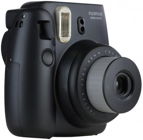 """Fuji Instax Mini 8 für 55€ in Schwarz, Weiß und Gelb - """"Polaroid""""-Fotografie. PVG: 64,90€ [Rakuten.de]"""