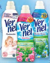 3 Flaschen Vernel Weichspüler für 2,33€ mit Coupon ab heute @[Kaufland]